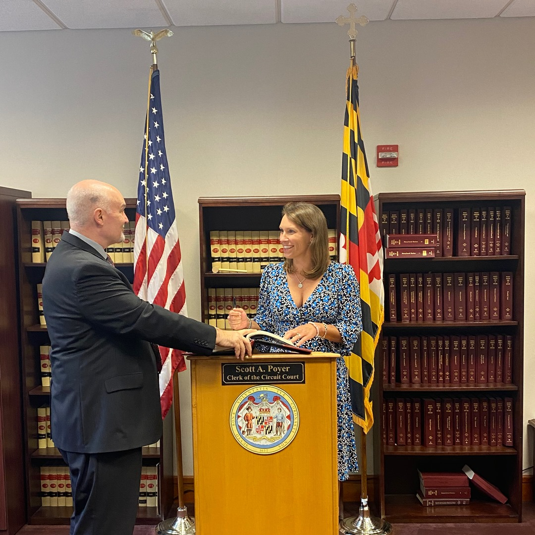 Dr. Marianne Bailey sworn in as member of the Maryland Agricultural Commission
